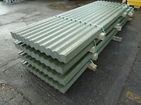 Corrugated sheet roofing - galvanised - 4 metres