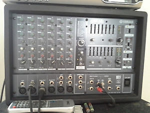 Yamaha EMX 68S Powered Mixer: