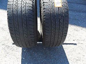 2 pneu été runflat 245/50/R18 pirelli cinturato P7 all saison a 7/32 bon pour 2 été