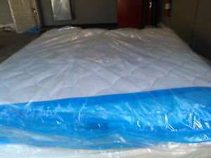 Queen simmons pillowtop mattress with boxspring $150