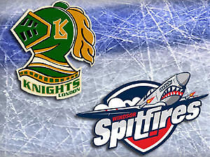 1 Ticket for tonight's Knights v. Spitfires game- great seat!