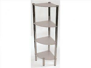 4 Tier Frosted Glass Corner on Sale in Brampton (BD-2647)