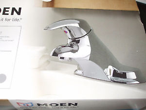 faucet moen single lever new ad up still for sale