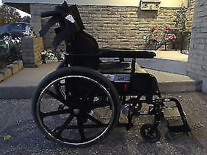 Great condition,reclining Wheel chair/Tilt Chair 16X18 inches