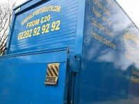 Man And Van Removals From Insured £20 Excellent reviews.