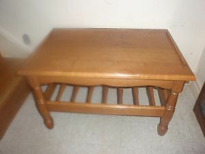 Moving Sale_Solid Wood Coffee Table