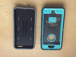 iPhone 6+ 6s+ Blue Otterbox Defender & Grey Hardcase