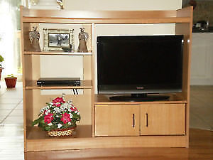 "Entertainment Centre/TV Stand fits 26"" TV, but you could place"