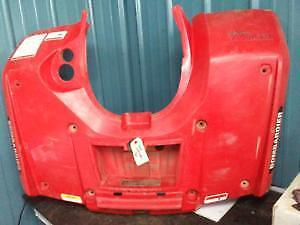 2003 - 2005 Can Am Outlander 330,400 Rear Fender Kit, Red