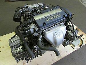 JDM Honda Accord Euro R H23A Blue Top Engine Automatic Trany