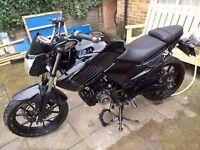 Motorbike Senke x6 125cc black damaged