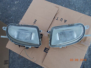 Mercedes SLK-230/280 GLASS fog light set (PAIRE)