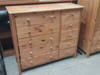SALE NOW ON!! Pine Chest Of Drawers - Can Deliver For £19
