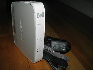 MODEM ROUTER WIRELESS WIFI ADSL2+ BELL UNLOCK FOR ALL PROVIDERS
