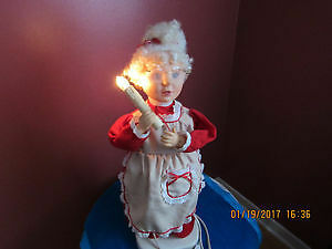 Big Animatronics Mama Santa dancing doll