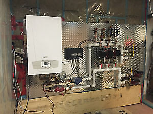 Pre Fabricated combination boiler panel