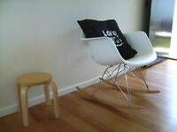 chaise eames Berçante, eiffel rocker, rocking chair