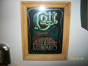 Colt firearms company Sign