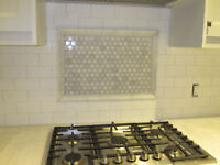 BACKSPLASH/PROFESSIONAL TILER/TILE INSTALLER/TILE INSTALLATION