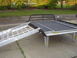 SLED DECK with extension BLACK
