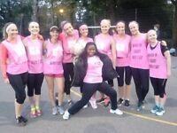 Play NETBALL on Wednesday evenings in Highbury, Islington