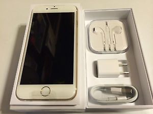 GOLD IPHONE 6S 64 GB - UNLOCKED - new in box - BUY OR TRADE