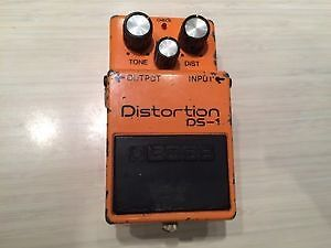 Boss DS-1 made in Japan