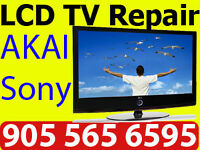 AKAI TV Repair LCT42Z6TM, NO POWER, LINE ON SCREEN