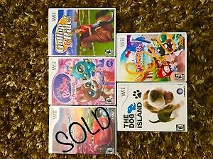 Wii games for sale! All working!