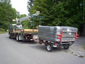 spa hot tub movers  install remove crane recondition used Gatineau Ottawa / Gatineau Area image 2