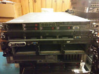 DELL HP IBM server with 2.83GHz 8 cores, 32GB RAM, RAID, DVD,2PS