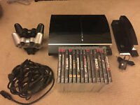 Playstation 3 20GB + 14 Games + Accessories