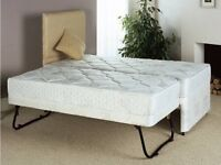 Single bed with pull out guest bed - guest bed mattress included