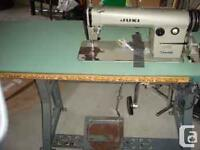 Looking for Industrial straight stitch Sewing machine.
