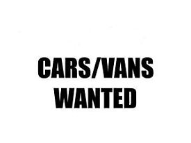 Cash paid for cars and vans
