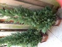 ARTIFICIAL EVERGREEN TREES