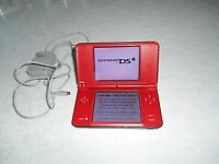 RED NINTENDO DSI CONSOLE COMPLETE
