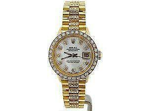 rolex datejust diamond watches new used luxury ladies rolex datejust diamond 18k watches