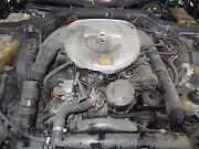 Mercedes 560 Engine