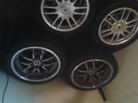 19' 5X114 FITS DODGE/ NISSAN   AND    16' 4X108 FITS FORD FS/FT