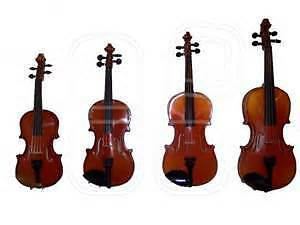 NEW low price: Violin, Viola, cello, double bass