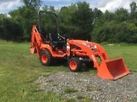 I AM LOOKING TO PURCHASE A COMPACT TRACTOR
