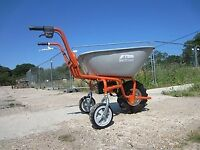 Electric Wheelbarrow. Power Barrow. Sherpa Electric Wheelbarrow. Garden Electric Wheelbarrow.