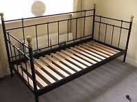 Black Metal Frame and Slats-Great Condition,Could Deliver Within Local Area