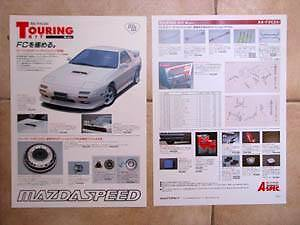 Mazdaspeed flyer for the 1985 - 1988 Mazda RX-7 FC JDM Kalorama Yarra Ranges Preview