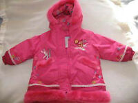 Manteau rose avec capuche Disney Winnie l'ourson confortable 18m
