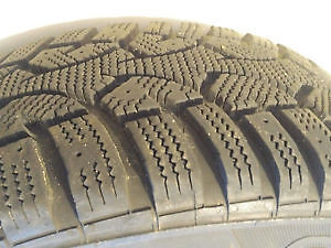 4 - Generic Altimax Arctic 185/65R14 winter tires on rims