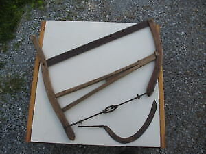 SELECTION OF ANTIQUE TOOLS