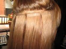 $150 tape hair extensions 100% human hair remy virgin quality 22 Glenwood Blacktown Area Preview