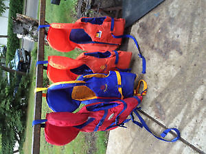 Children's life jackets + adults